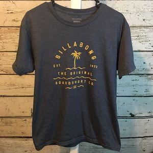 Billabong Slate Blue Men's Tee Shirt Medium